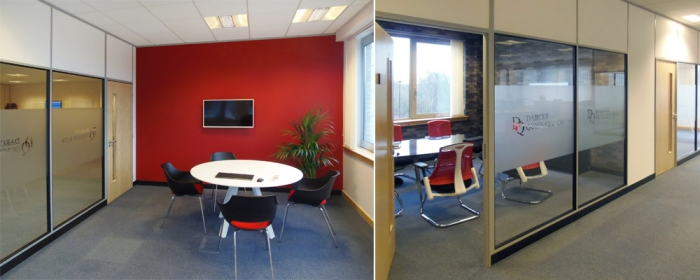 Quality office interior design for Darcy Quigley