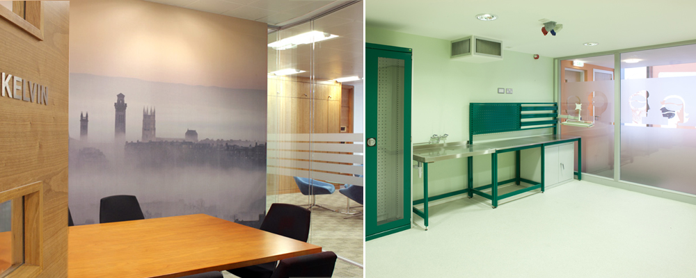Office partitioning, Axis Solutions