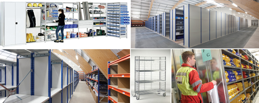 Shelving systems, Axis Solutions