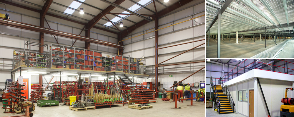 Mezzanine Floors, Axis Solutions