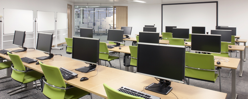 Office interiors, Avaloq Innovation, Axis Solutions