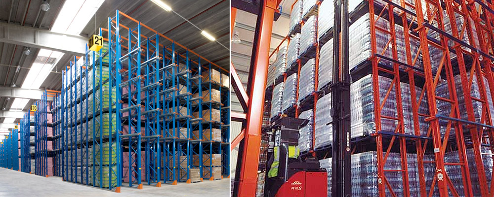 Drive In Pallet Racking, Axis Solutions