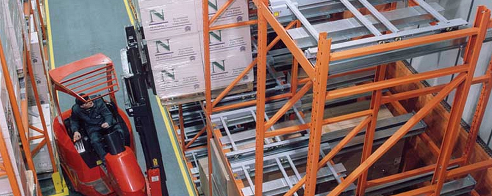 Dynamic Storage Pallet Racking, Axis Solutions
