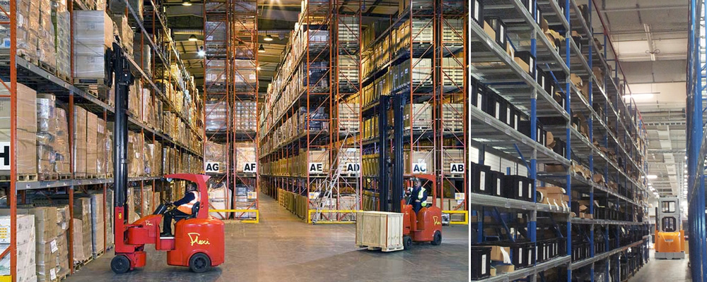 Narrow Aisle Pallet Racking, Axis Solutions