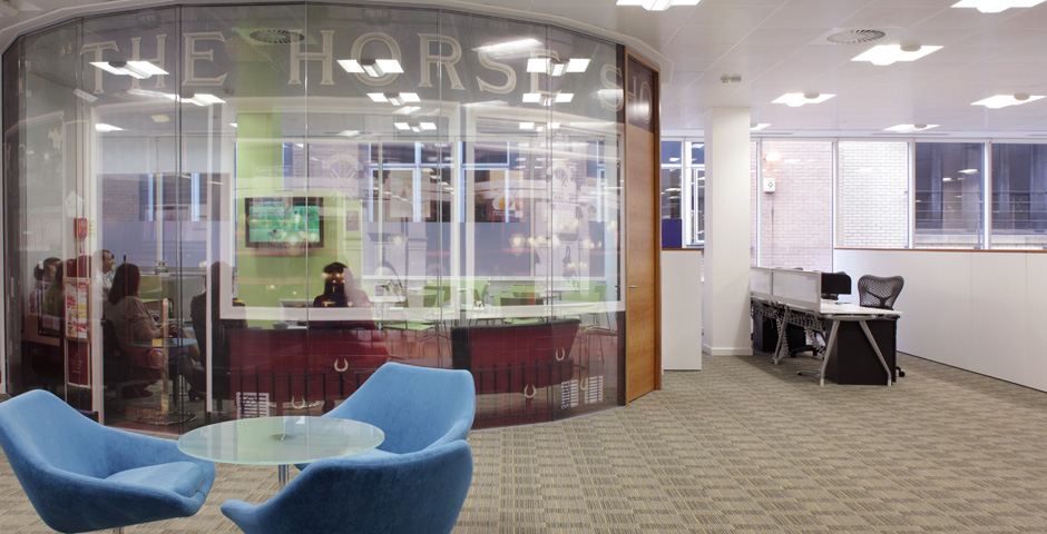 Office Interiors design with Axis Solutions