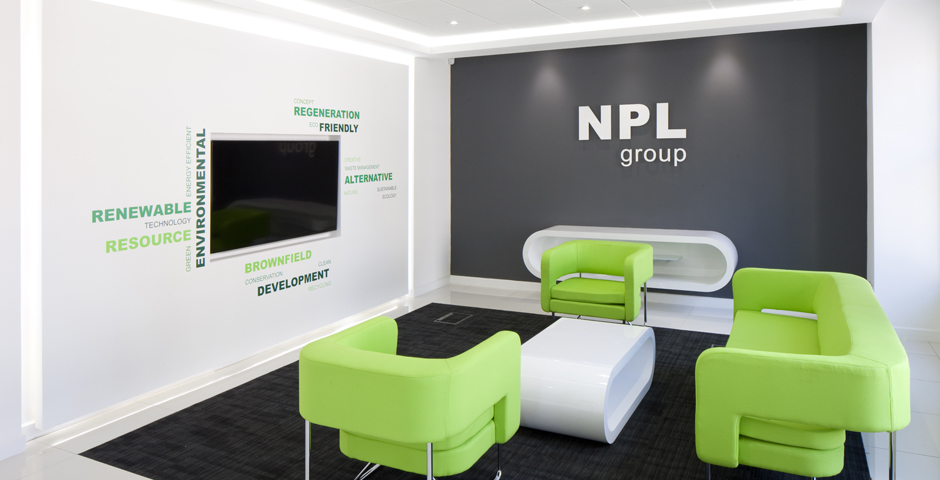 NPL Group office design with Axis