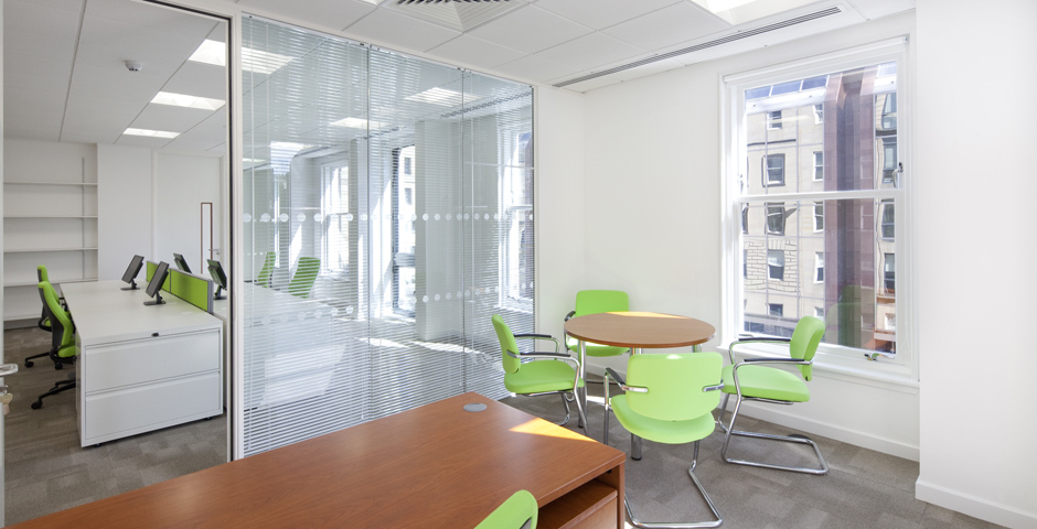 Office workspace design with Axis Interiors