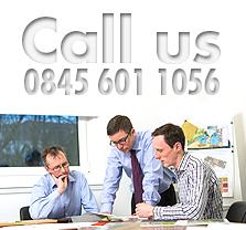 Call us 0845 601 1056