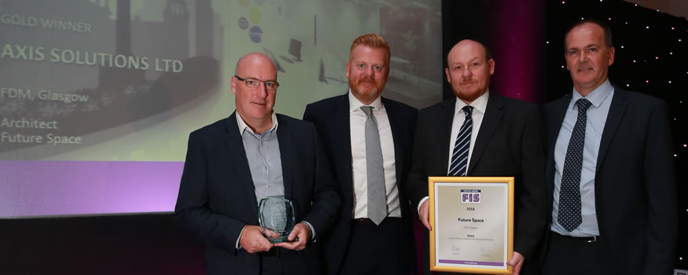 FIS Scotland Gold award winners