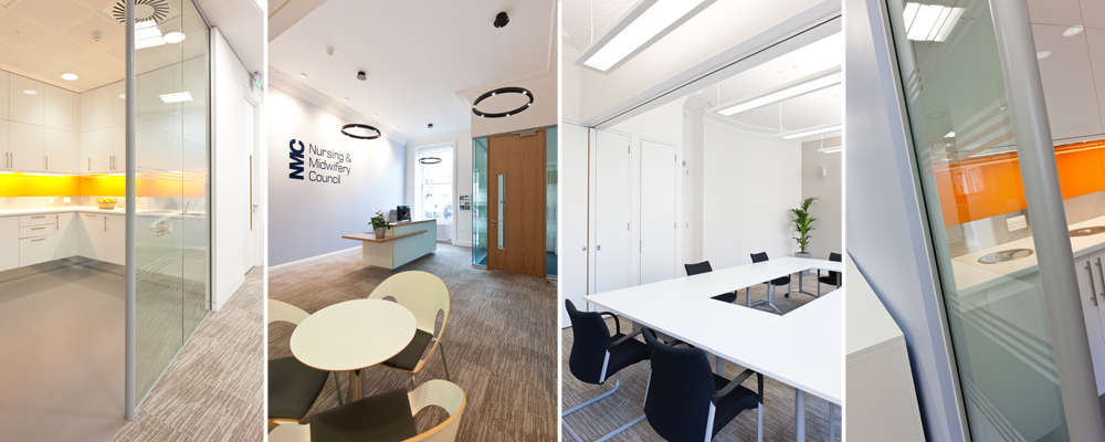 Office interior fit outs in george street edinburgh from for Office interior solutions