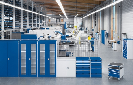 7 successful storage and workshop solutions for the aerospace industry