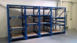 Aerospace solutions racks