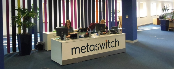 Office fit-out for Metaswitch in Edinburgh