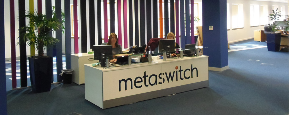 Metaswitch fitout by Axis Solutions