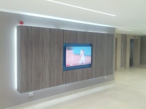 Bespoke TV display
