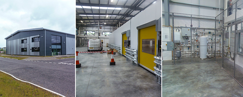 Greencore fitout by Axis Solutions