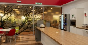 Scottish Enterprise cafe fitout by Axis Solutions