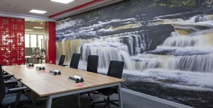 Scottish Enterprise meeting room fitout by Axis Solutions